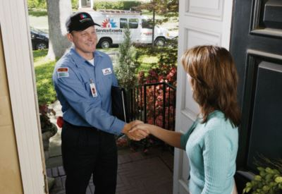 in-home estimate from All American Air Service Experts Heating & Air Conditioning